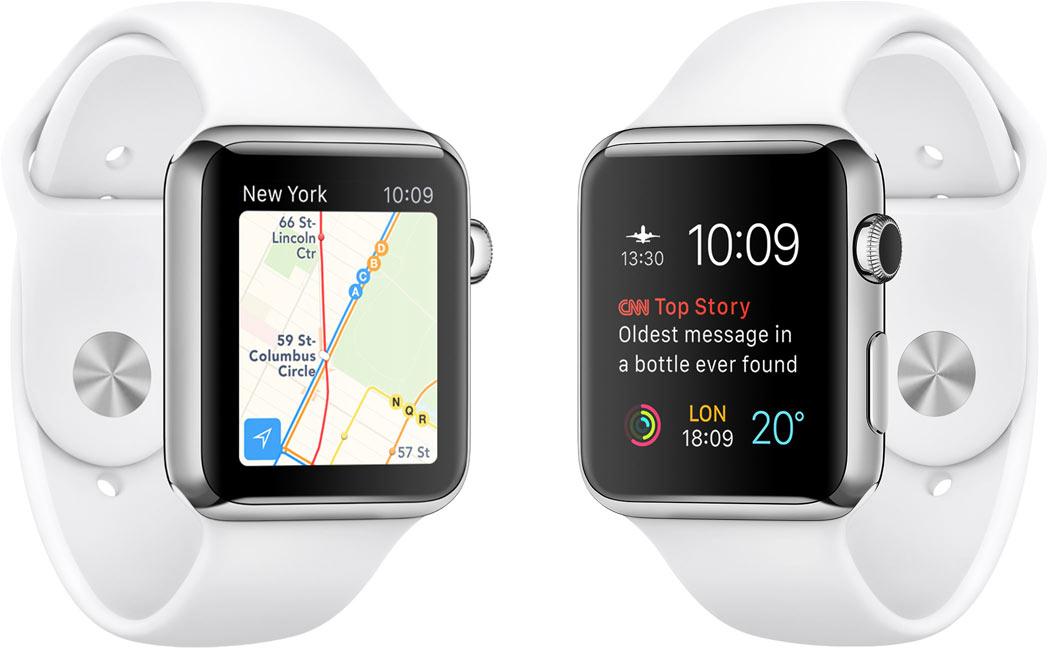 apple anuncia el lanzamiento del sistema operativo watchOS 2
