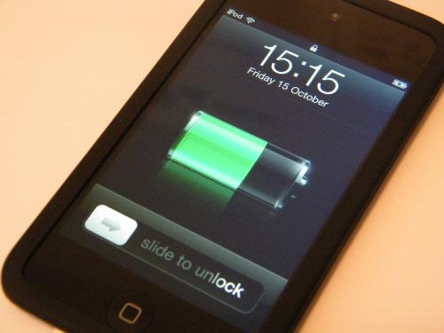 Carga completa del móvil por primera vez
