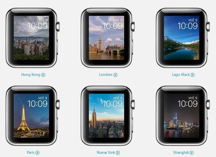 sistema operativo watchOS 2 nuevas watchfaces