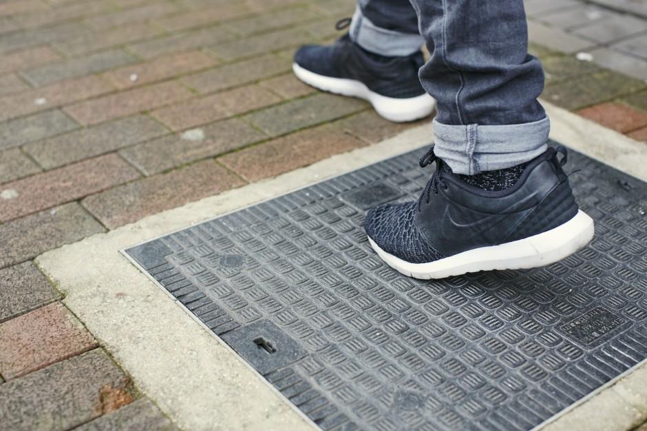 aceras inteligentes en las calles del Reino Unido