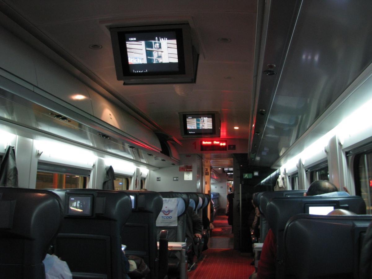conexión WiFi en el interior de los trenes
