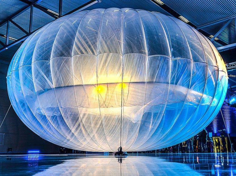 proyecto loon - internet vía satélite
