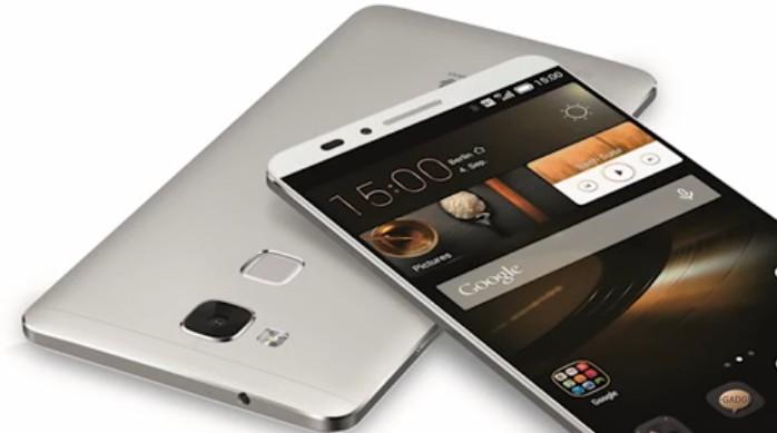 Huawei Mate 8 con huella dactilar trasera
