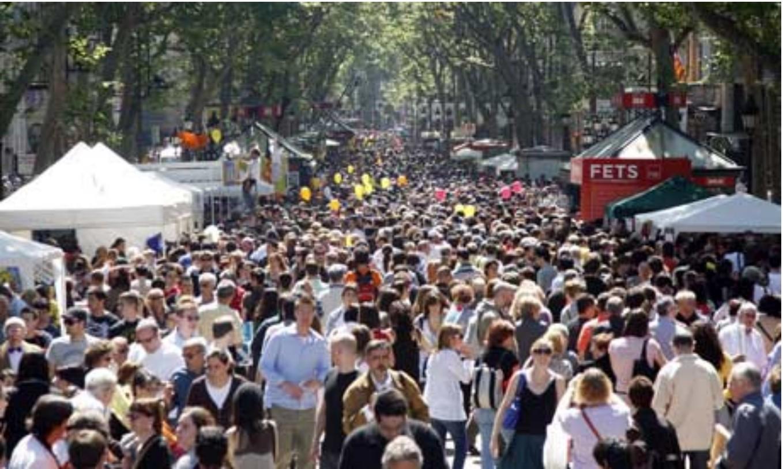 mejorar la cobertura del móvil - aglomeraciones personas