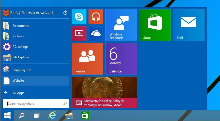 Windows 10 facilita la búsqueda de virus interfaz inicio