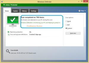 windows 10 facilita la busqueda de virus windows defender