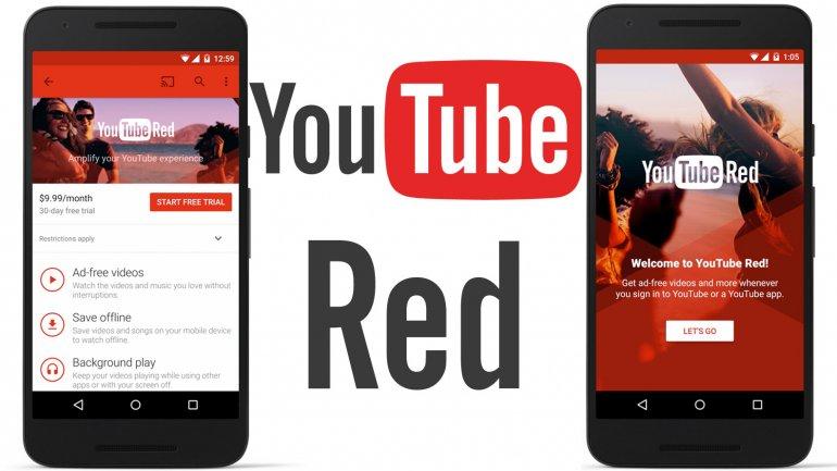 youtube red para móviles