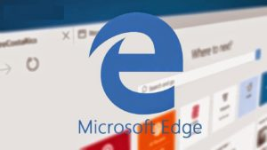 microsoft edge de windows 10 configurar seguridad