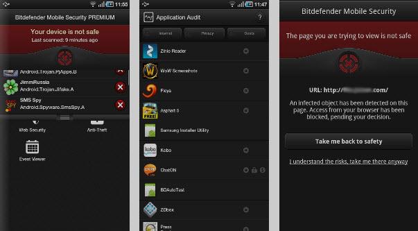Antivirus para Android - BitDefender