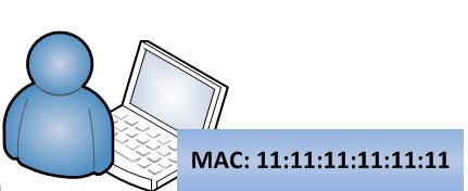 detectar intrusos en la red WiFi - direcciones mac e ip