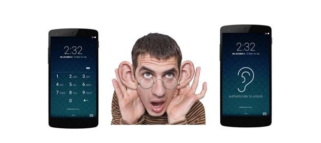 sistema de contraseñas - biometria oreja