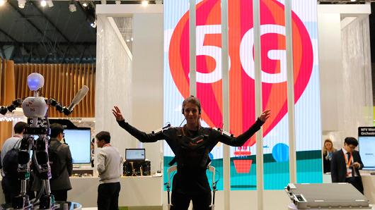 conexión 5G sk telecom