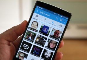 mejoras multimedia blackberry messenger