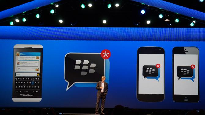 novedades blackberry messenger