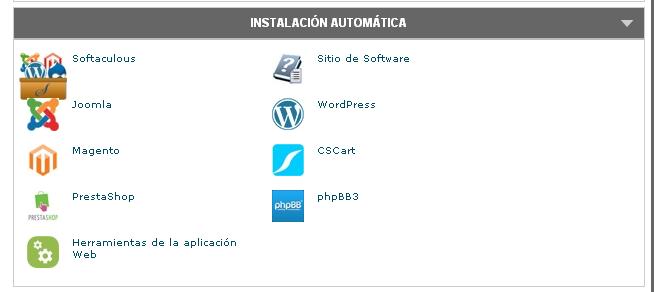 instalacion automatica de aplicaciones open source