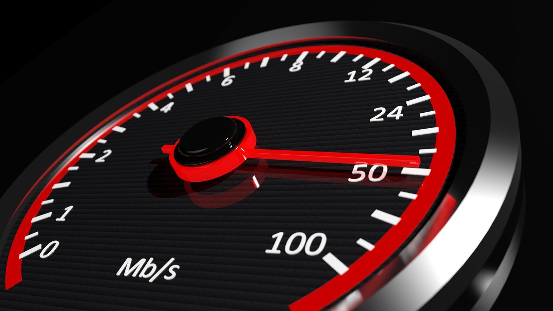 velocidad de subida y bajada