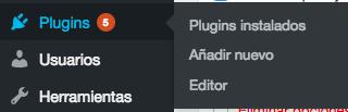 administrador WordPress muy lento