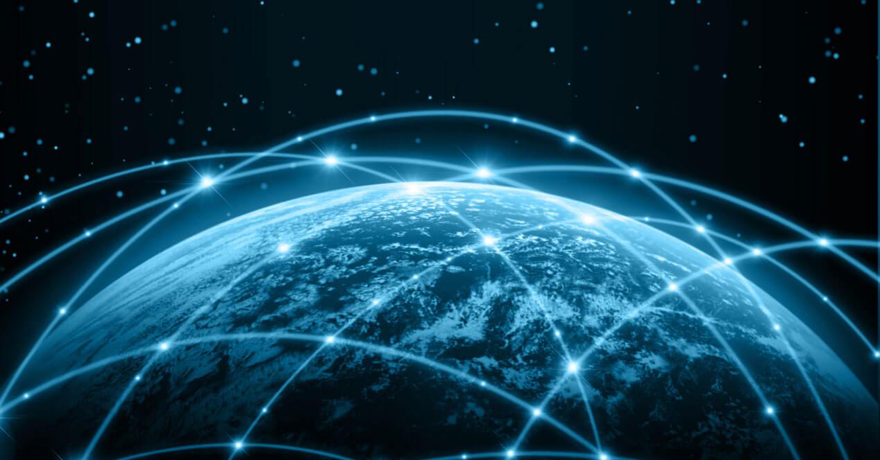 conectarse a internet vía satélite en todo el mundo