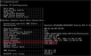configurar router nuevo puerta de enlace