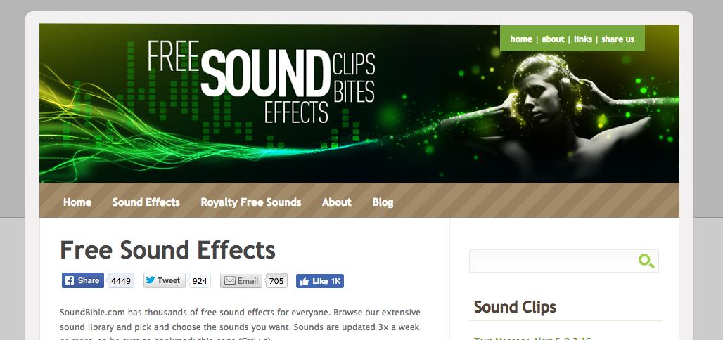 Efectos de sonido gratuitos