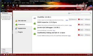navegadores web alternativos 7 seamonkey