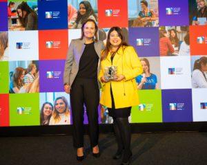 68 digital leader winner – jill zeret jimenez rodriguez with gillian